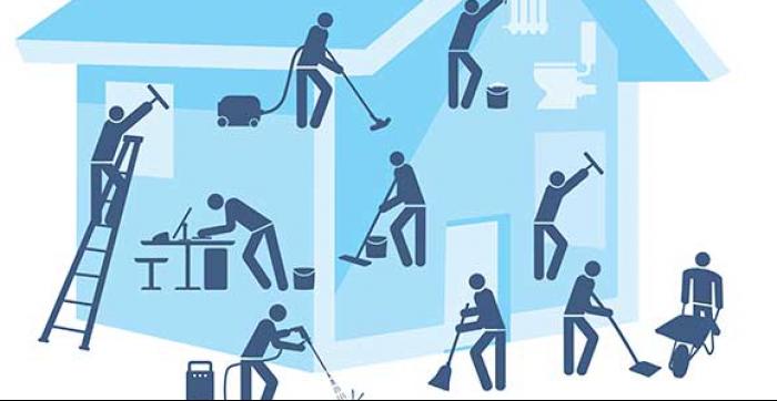 Nettoyage après construction Lavage de vitres Nettoyage après sinistre L'entretien ménager d'édifices publics Nettoyage extérieur de maisons Nettoyage de tapis Grand ménage Décontamination de meubles